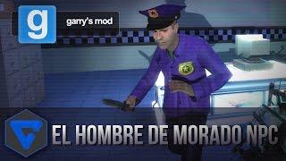 EL HOMBRE DE MORADO NPC FIVE NIGHTS AT FREDDY'S CON ITOWNGAMEPLAY