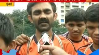 Mumbai Blind People Govinda In making Layers