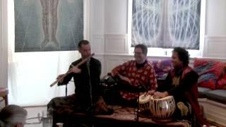 Eric Fraser (bansuri flute) Raga Sivaranjani