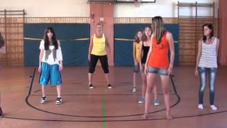 1. Lerne den Tanz-Flash-Mob für das Festival des Sports in Geisenfeld