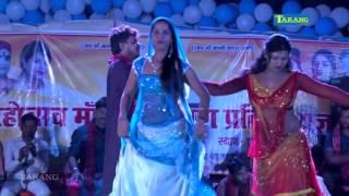 HD pramod premi bhojpuri hot song    maa kali mahotsaw chatra maliyabag 2016    bhojpuri stage show