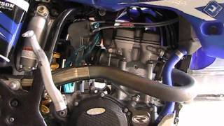 How to check oil pressure on a MX bike (motocross, dirt bike, etc). YZ250F Example