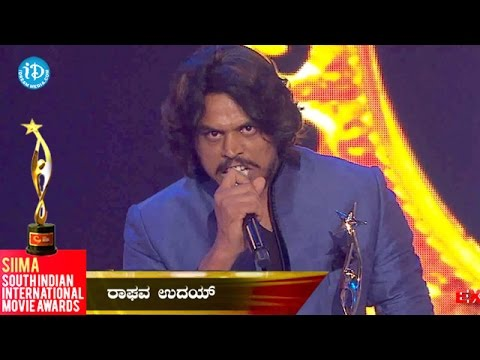 Xxx Mp4 SIIMA 2014 Best Actor In Negative Role Kannada Raghav Uday 3gp Sex