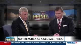 Newsmax Prime | Herb London discusses the threat of a North Korean missile