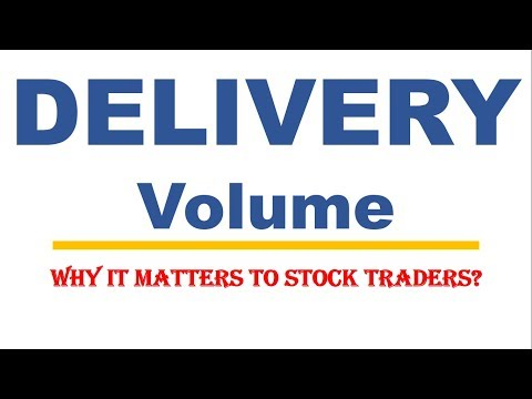 Using volume & delivery volume for profitable stock trading | EQSIS