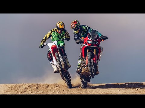 Download MX vs. ADV! KTM 1190 Adventure R & 450SX-F vs. Honda Africa Twin & CRF450R   On Two Wheels HD Mp4 3GP Video and MP3