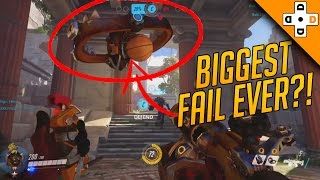 Overwatch Funny & Epic Moments 51 - BIGGEST FAIL EVER?! - Highlights Montage