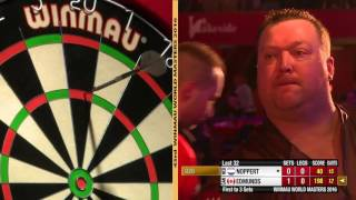 Darts World Masters 2016 Last 32 Noppert vs Edmunds