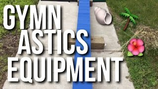 MY GYMNASTICS EQUIPMENT