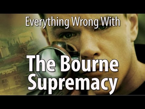 Everything Wrong With The Bourne Supremacy In 12 MInutes Or Less