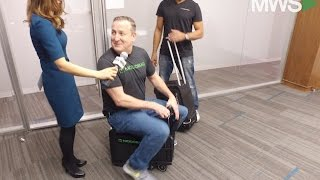 Meet Modobag: The World's 1st Rideable, Motorized Luggage Arrives at Nasdaq