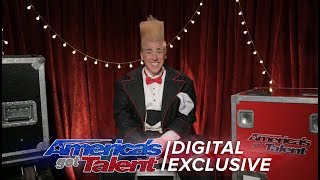Comic Daredevil Bello Nock Recalls Taking His Clowning to New Heights - America's Got Talent 2017