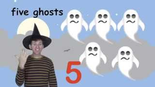Halloween Numbers Song for Kids