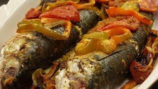سمك بورى فى الفرن + أرز سمك - مطبخ ست البيت - أبله منال