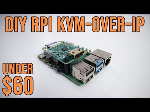 DIY Raspberry Pi KVM Over IP Under 60 with Pi KVM