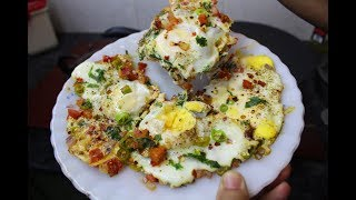 Tawa Omelette Recipe By AAmna's Kitchen