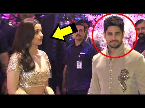 Xxx Mp4 Alia Bhatt IGNORES Ex Boyfriend Sidharth Malhotra At Akash Ambani S Engagement Party 3gp Sex