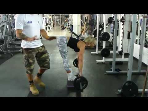 Musculação Para Mulheres Treino para as pernas coxa e bumbum