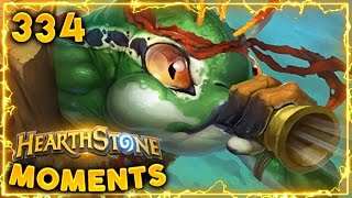 Less than 1% Luck Play..?! | Hearthstone Gadgetzan Daily Moments Ep. 334 (Funny and Lucky Moments)