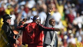 FIFA World Cup 2014 Closing Ceremony (Shakira, Santana, Wyclef)