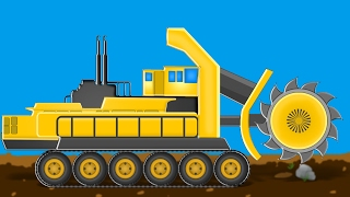 Bucket Wheel | Formation and uses | videos for kids