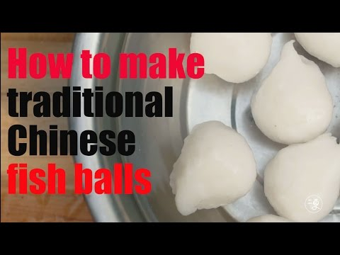 Xxx Mp4 Food How To Make Traditional Chinese Fish Ballsl More China 3gp Sex