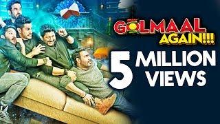 Golmaal Again Trailer CROSSES 5 Million Views - New Record Set