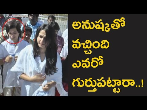 Tollywood actress Anushka Shetty exclusive video