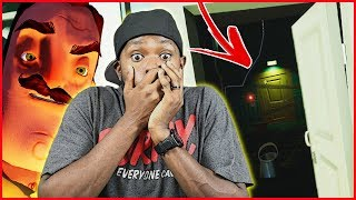 EXPOSED! WE FINALLY KNOW WHAT HE'S HIDING DOWN THERE! - Hello Neighbor Gameplay