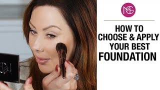 How to Choose and Apply Your Best Foundation   Makeup Geek