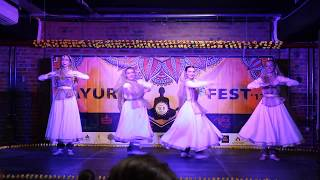 Trivat by Chakkar dance group. Kathak