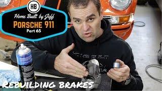 How to rebuild brake calipers - Porsche 911 Classic Car Build Part 65