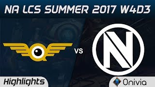 FLY vs NV Highlights Game 3 NA LCS Summer 2017 FlyQuest vs EnvyUs by Onivia
