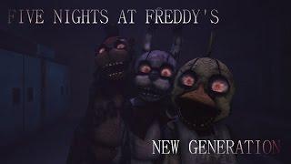 Five nights at freddy's New generation| Trailer| HD |Fan Made