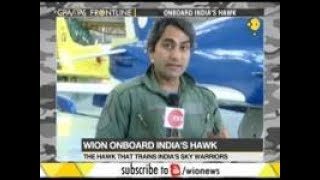 WION Editor-in-Chief Sudhir Chaudhary flies the