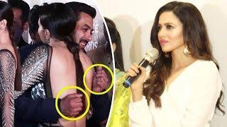 Sana Khan SPEAKS Up On Her Awkward Hug With Salman Khan Publicly