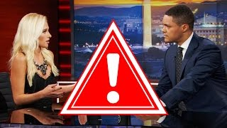My Tomi Lahren vs. Trevor Noah On The Daily Show Video Got Blocked by Viacom (REACTION)