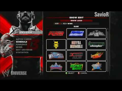 WWE '13: Universe Mode! - The Creation (Ep.1)
