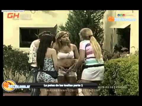 Tamara y la pelea de las toallas PARTE 1 Gran Hermano 2011