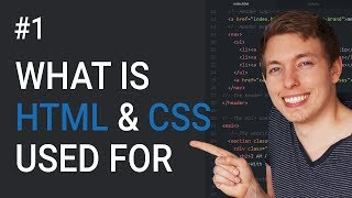 1: HTML tutorial for beginners | HTML and CSS tutorial | Introduction to HTML programming