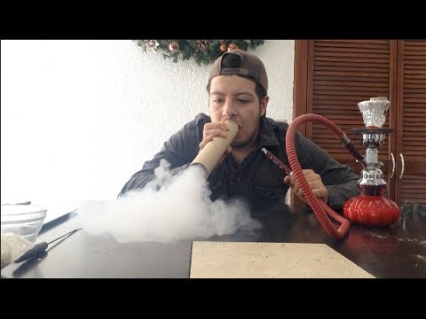 ¿Cómo sacar mucho humo con la Shisha?