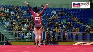 Gimnastik Artistik Berpasukan | Floor Exercise | Pingat Emas | KL 2017 | Astro Arena
