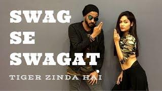 Swag Se Swagat Song | Tiger Zinda Hai | Hip Hop Choreography | LiveToDance with Sonali