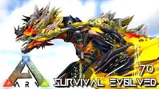 ARK: SURVIVAL EVOLVED - NEW TEK WYVERN EMPEROR FOREWORLD MYTH !!! E70 (MOD ARK EXTINCTION CORE)