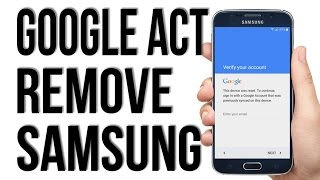 November 2016 - WITHOUT OTG, Remove, Disable, Bypass Google Account Lock FRP on any Samsung phone.