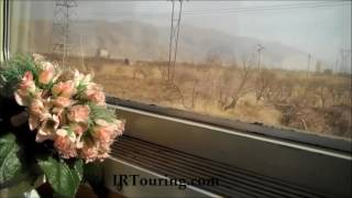 Train journey from Tehran to Istanbul . IRTouring.com