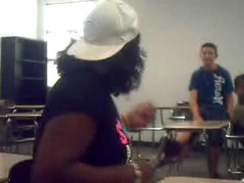 katrina raping at the end of school