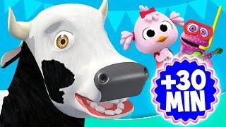 La Vaca Lola de La Granja y más videos infantiles | El Reino Infantil