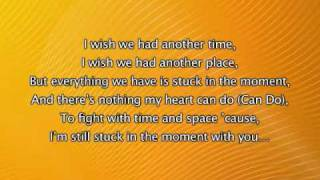 Justin Bieber - Stuck In The Moment, Lyrics In Video [My World 2.0]