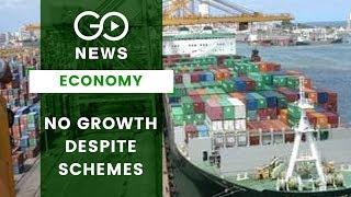 No Growth Despite Schemes